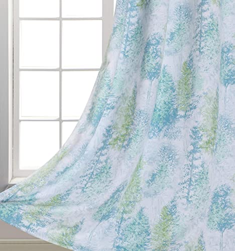 Home Fashion Print Forest Blackout Curtains