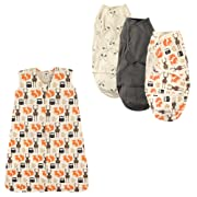 Wearable Sleeping Bag & Swaddle Wrap 3-Pack Jersey Cotton