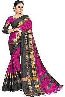 460ae684bfd722 Shreeji Designer Cotton Silk Ari Embroidery Work Fancy Saree With ...