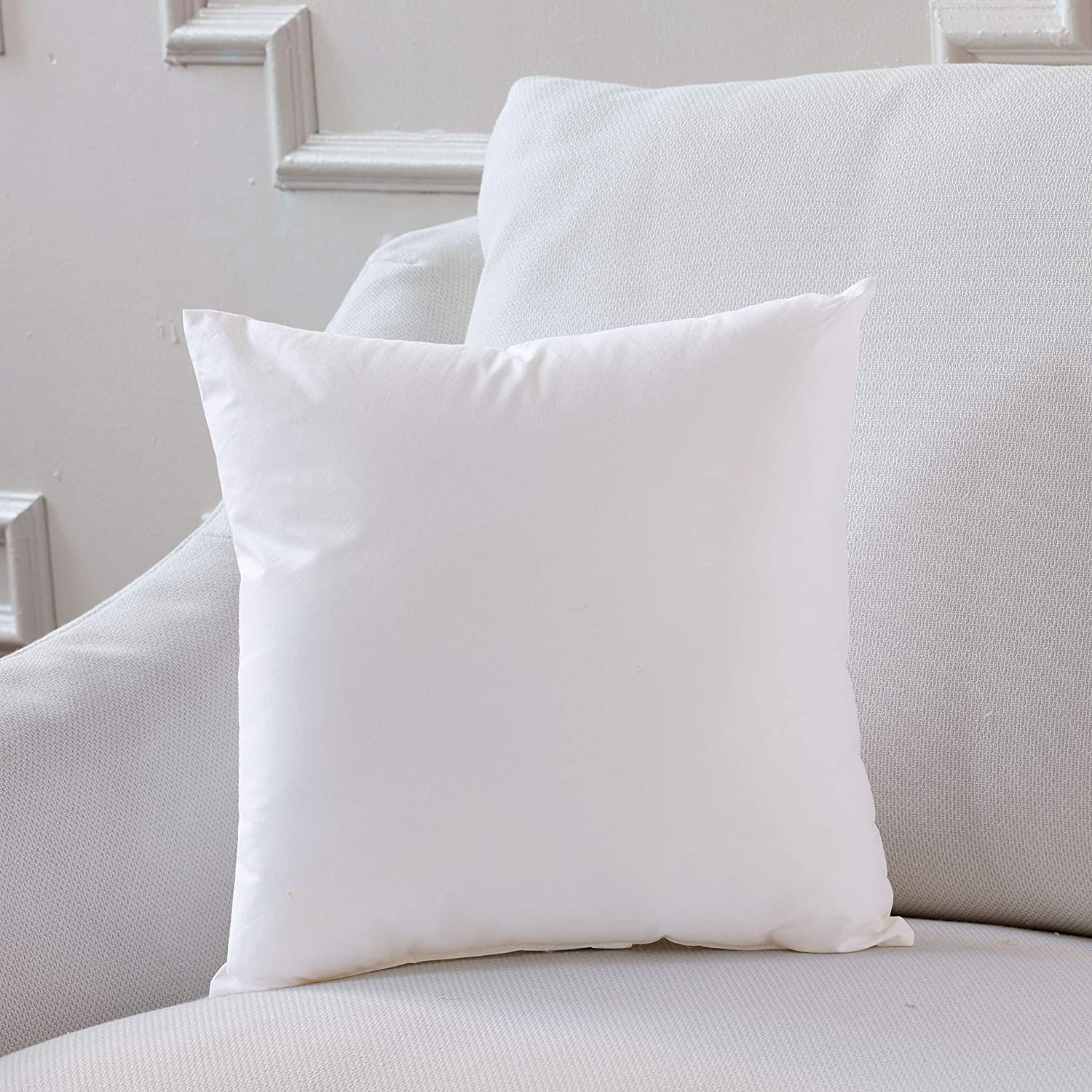 27x27x3 Boxed Pillow Insert PolyFeatherBlend Plankroad Home Decor Pillow Insert