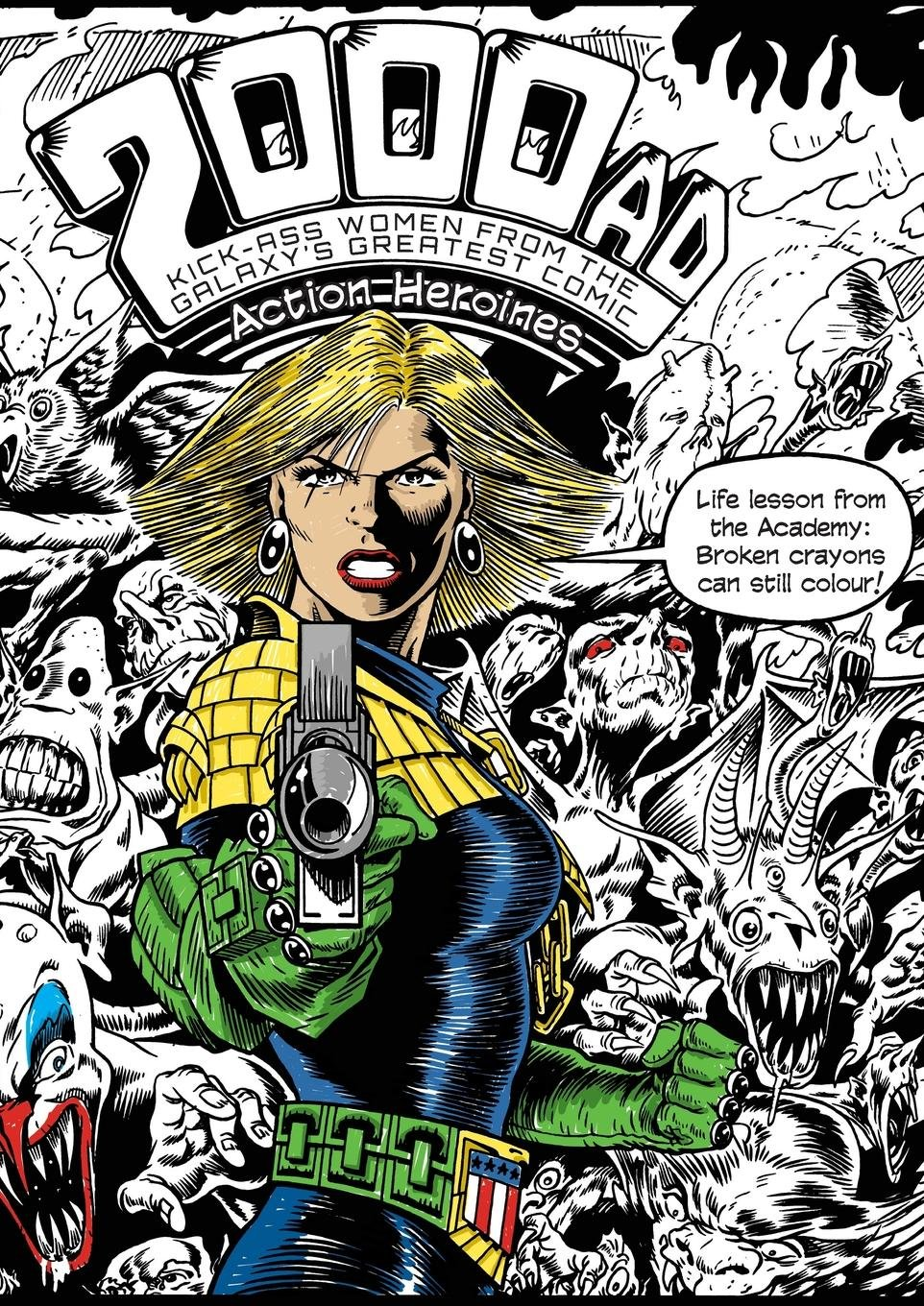 The 2000AD Action Heroines Colouring Book (Snowbooks Fantasy Colouring Books)