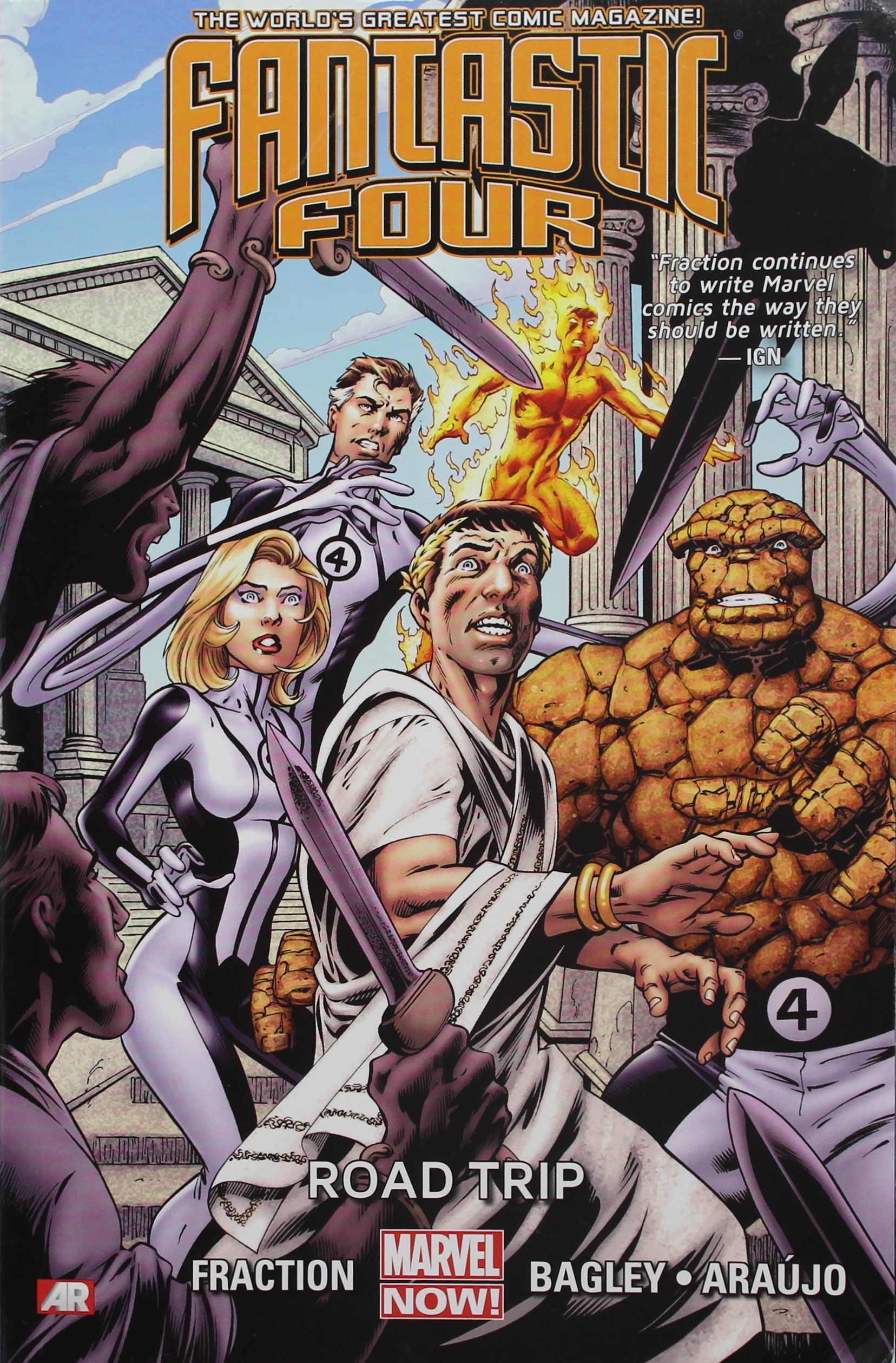 Fantastic Four, Vol. 2: Road Trip pdf