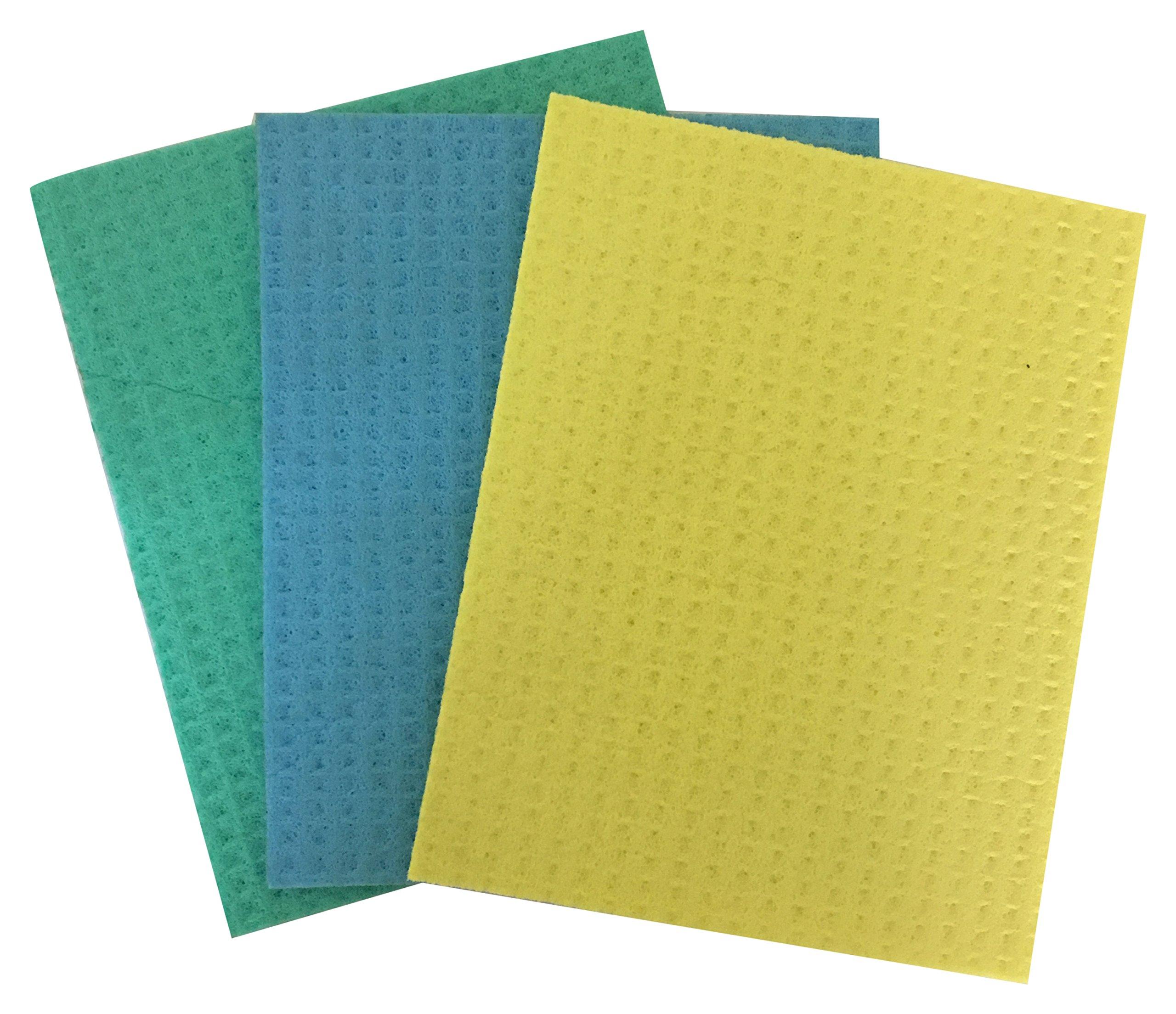 Brite Guard Cellulose Cleaning Sponge Mop (16 x 20 x 0.4 cm, Multicolour) - Pack of 3 (B07DK628KW) Amazon Price History, Amazon Price Tracker