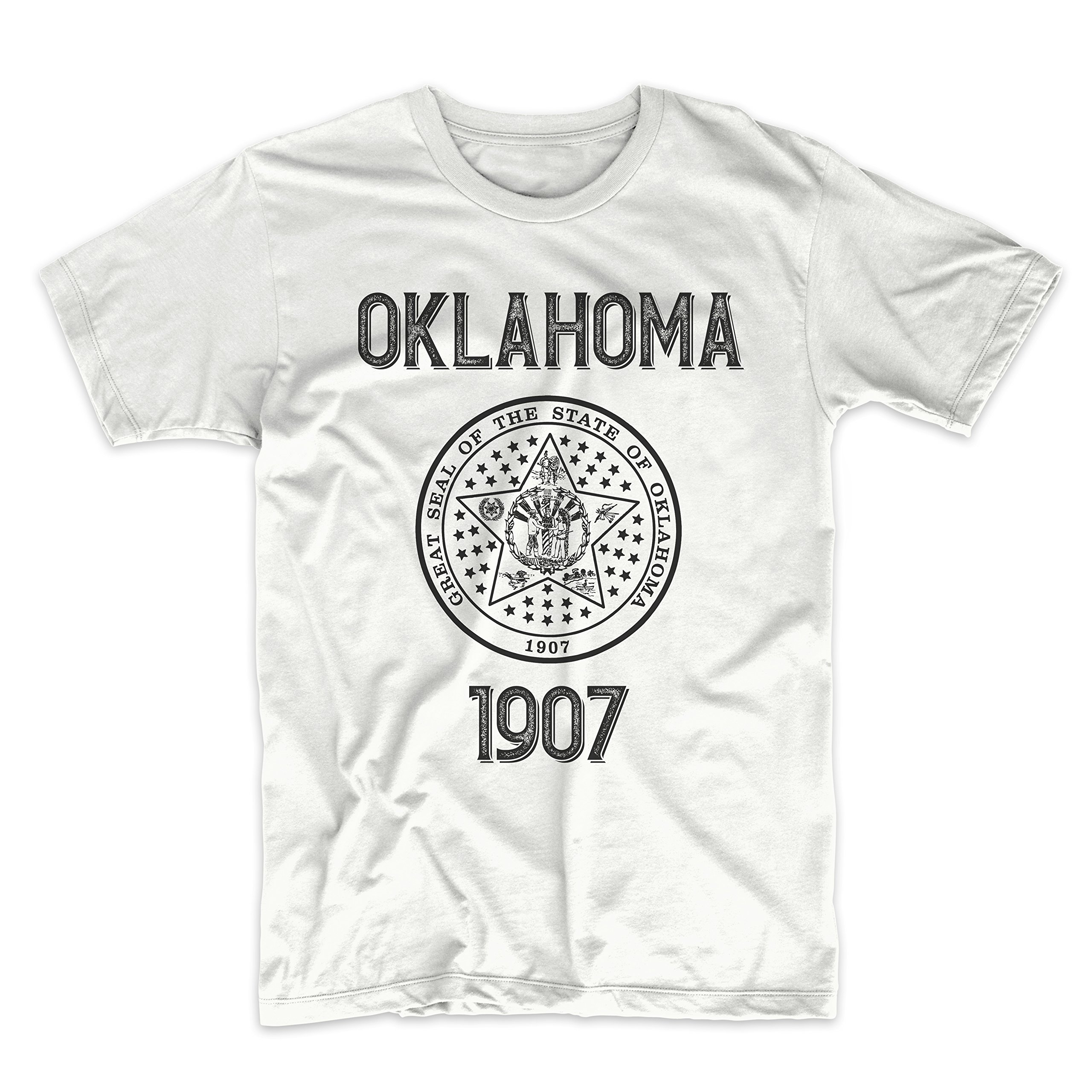PatentPrints Oklahoma Coat of Arms T Shirt