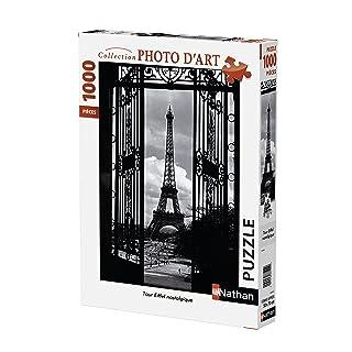 Nathan 87570 - Torre Eiffel, Puzzle da 1000 pezzi