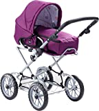 BRIO 24890310 − Puppenwagen Combi, violett
