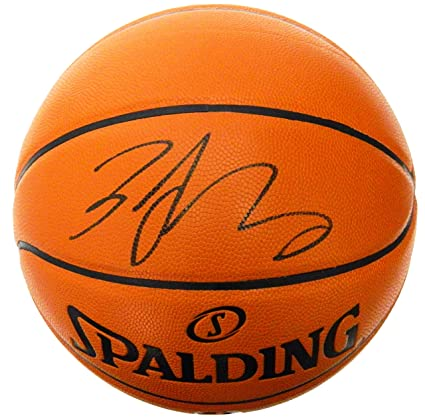 Image Unavailable. Image not available for. Color  Zach LaVine Signed  Spalding Game Series Replica NBA Basketball b685fcd0a