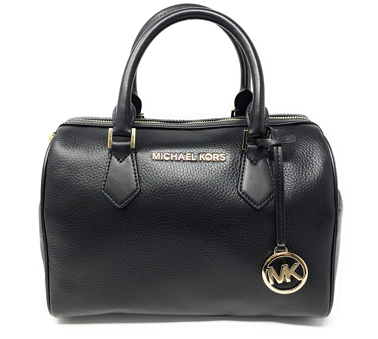 Michael Kors Hayes Large Duffle Satchel Bag
