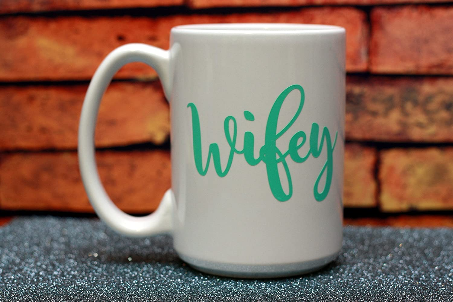 Hubby Wifey Custom Couple Mug Set