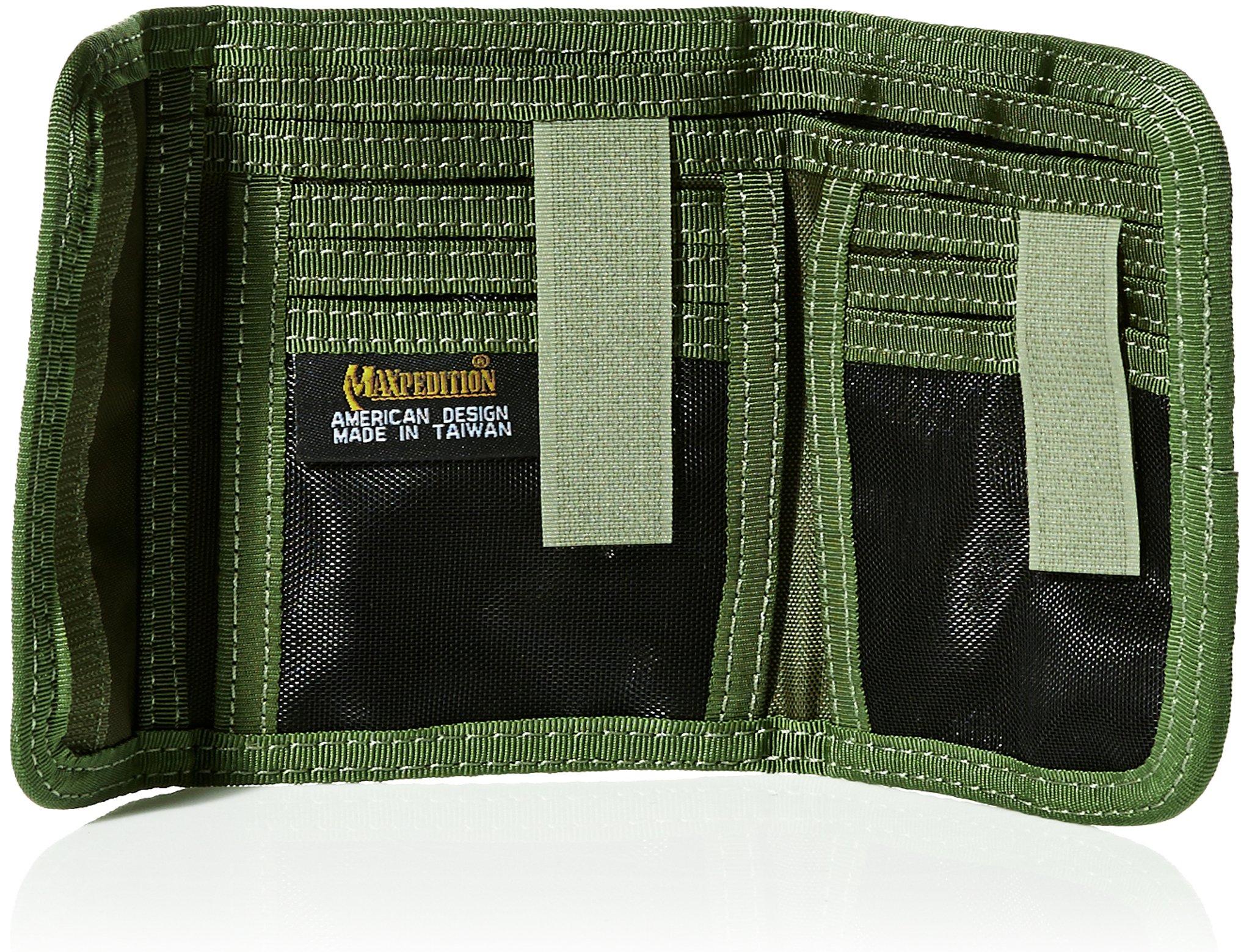 MX229G-BRK Spartan Wallet OD Green