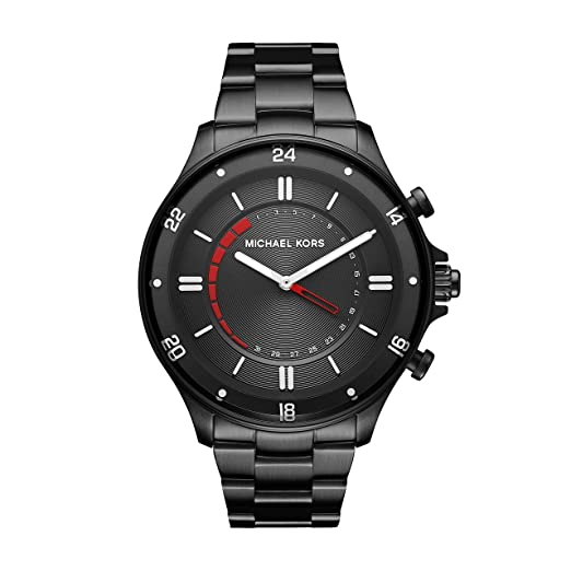 Michael Kors Reloj Analogico para Hombre de Cuarzo con Correa en Acero Inoxidable MKT4015: Amazon.es: Relojes