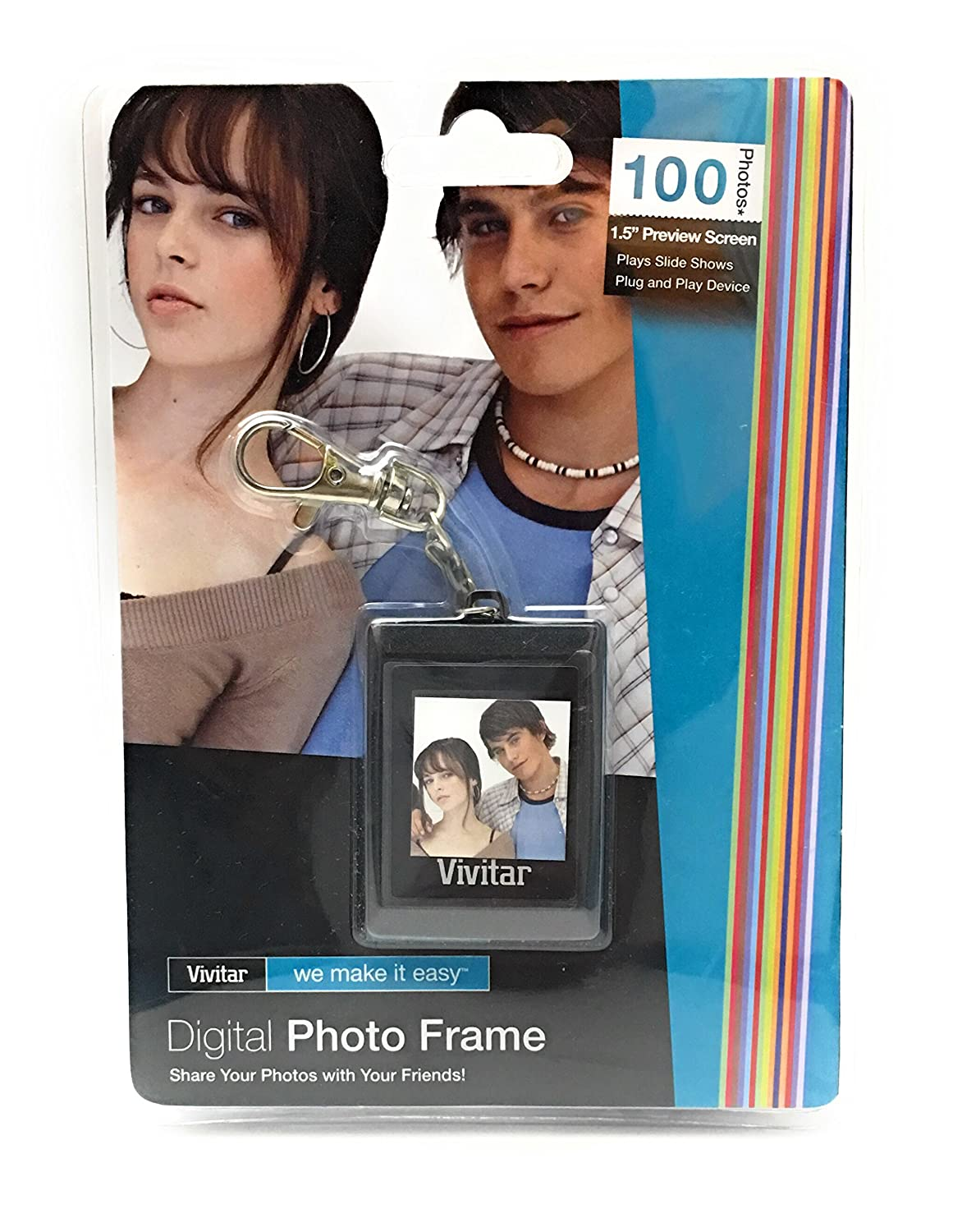Digital Photo Frame 1.5' Preview Screen by Vivitar Sakar 4332087074