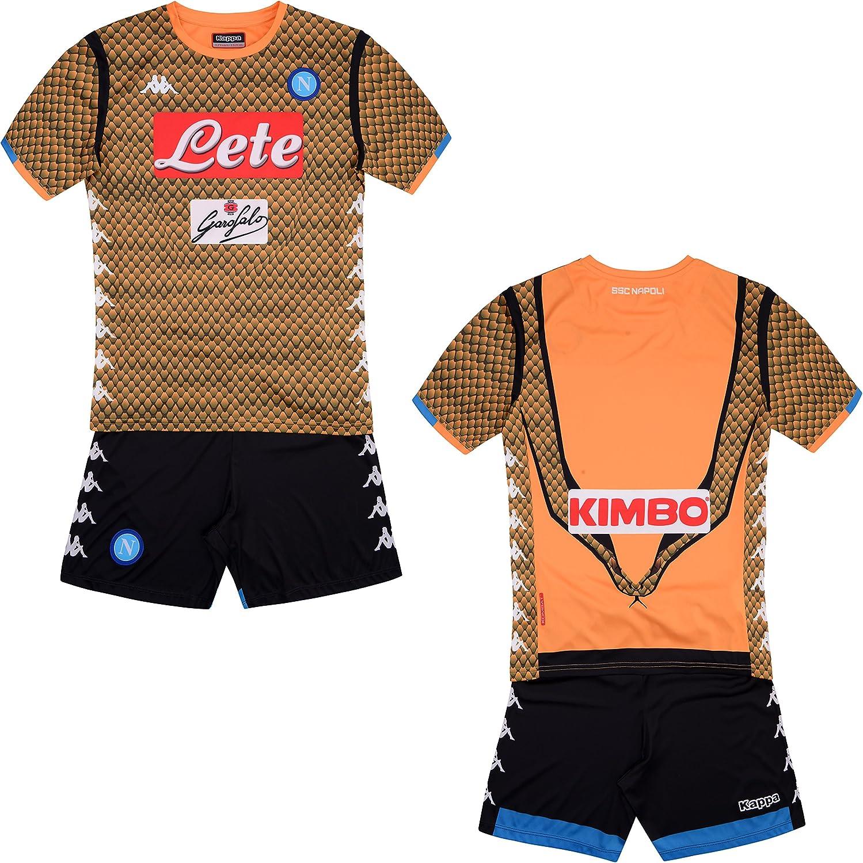 SSC NAPOLI kit Match Junior ext/érieur