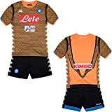 SSC Napoli junior goalkeeper match kit 3032UQ0
