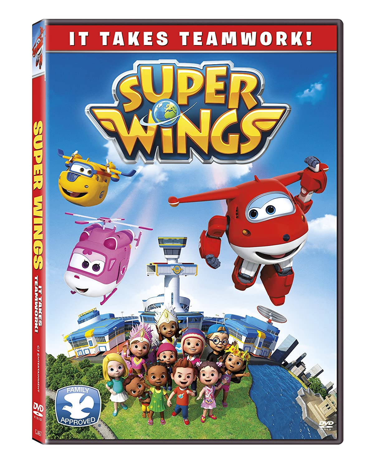 Super Wings: It Takes Teamwork Luca Padovan (Jett) eOne Kim Jin Yong Cookie Jar Entertainment