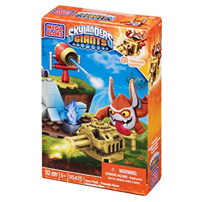 Mega Bloks Skylanders Trigger Happy Building Pack: Toys & Games