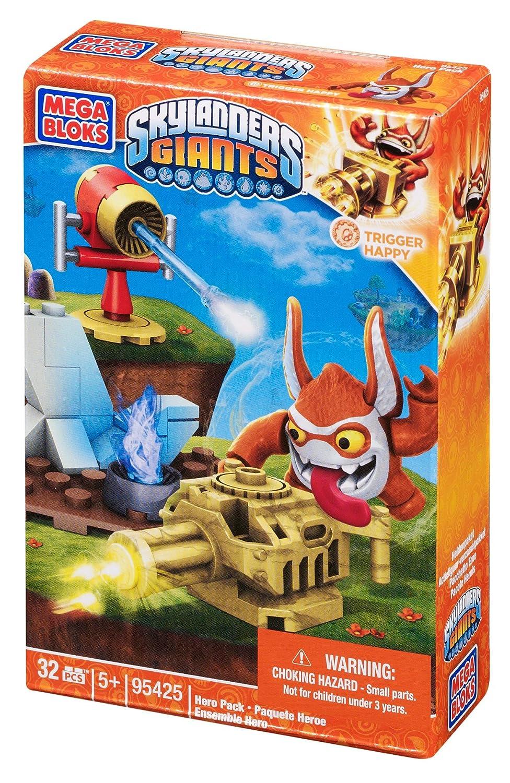 Amazoncom Mega Bloks Skylanders Trigger Happy Building Pack Toys