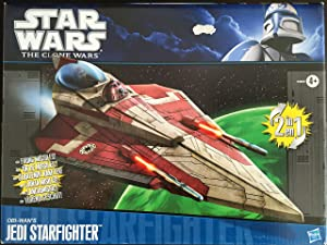 Star Wars, The Clone Wars 2011 Vehicle, Obi-Wan's Jedi Starfighter