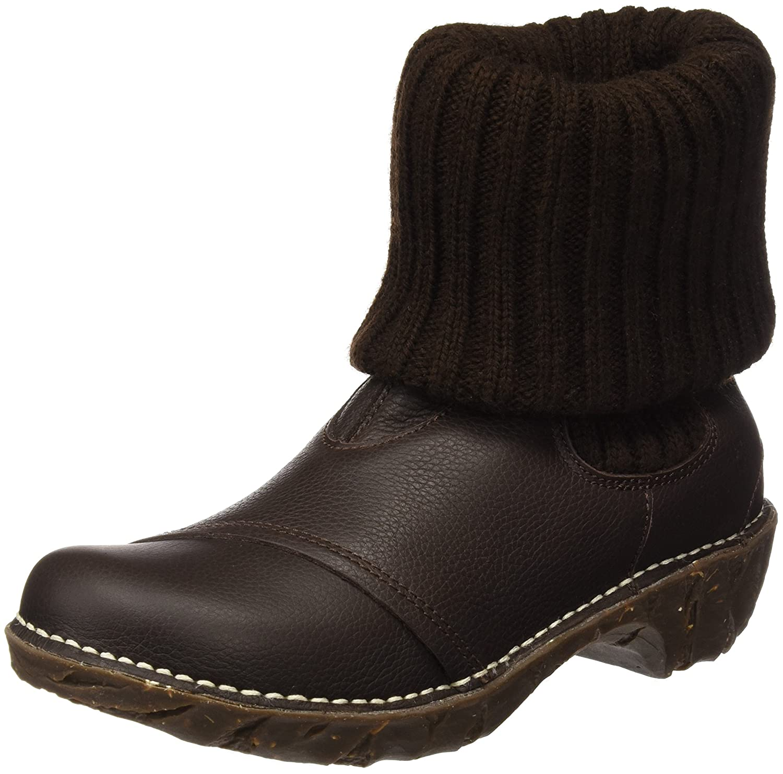 El Naturalista N097 Soft Grain Yggdrasil, Botines para Mujer39 EU|Marrón (Brown)