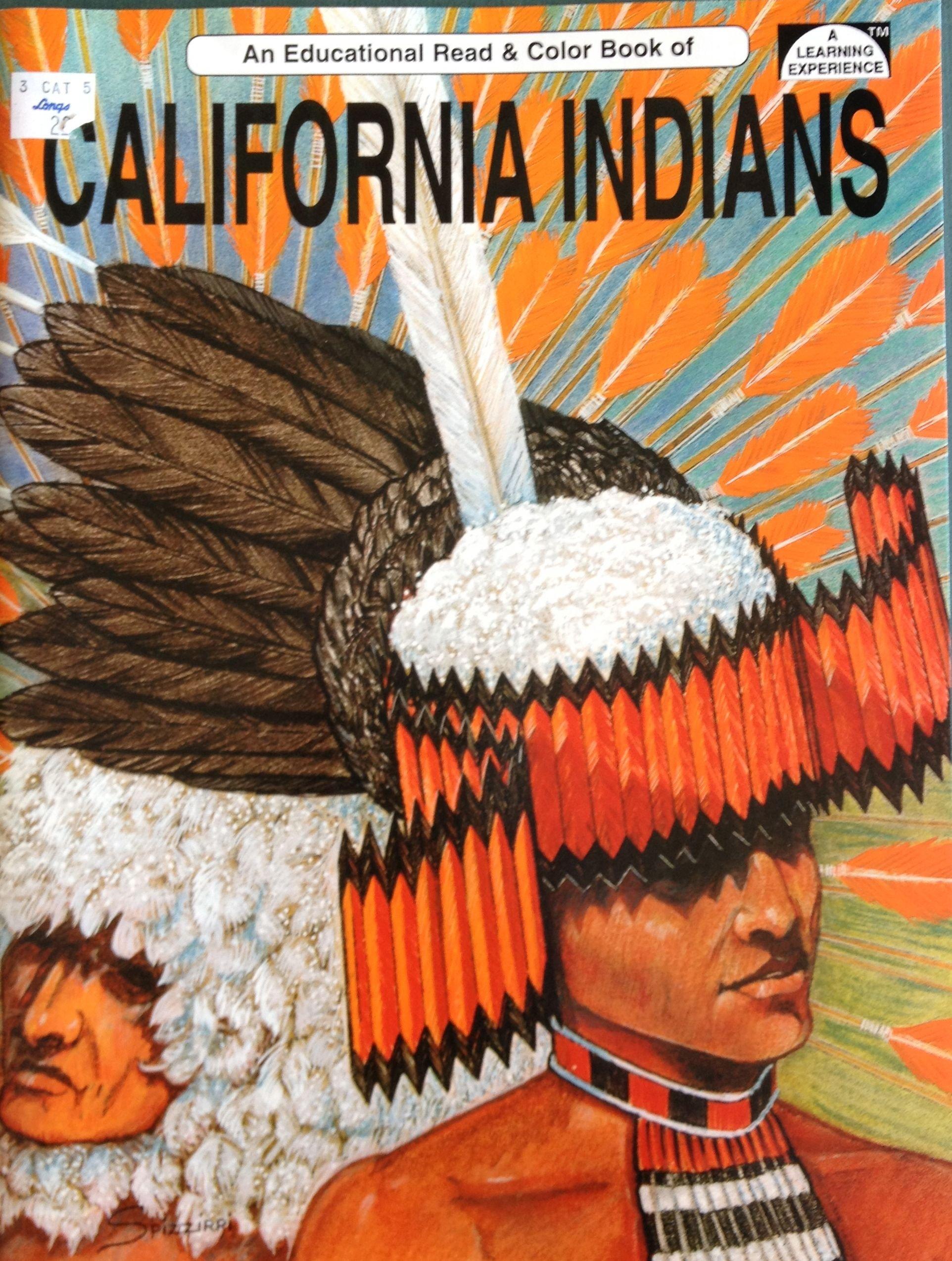 California Indians: An Educational Coloring Book: Spizzirri ...