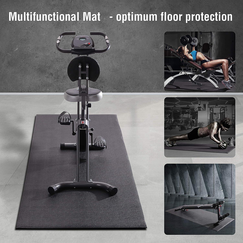 Ultrasport Esterilla fitness en 3 tamaños, esterilla para aparatos ...