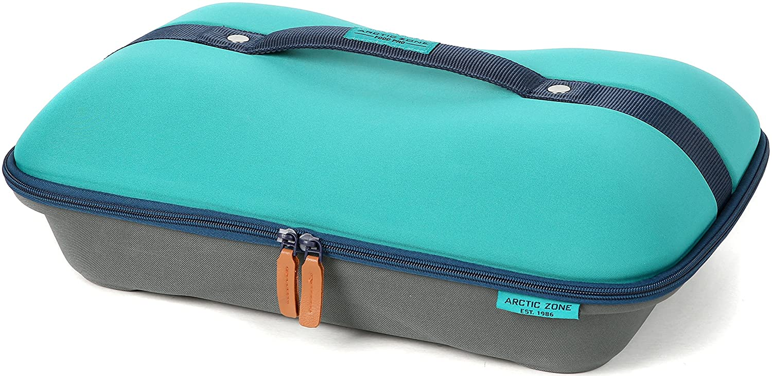 Arctic Zone 2224IL008987 Deluxe Hot/Cold Thermal Insulated Food Carrier, Teal
