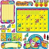 Trend Enterprises Owl-Stars! Calendar Bulletin Board Set (T-8363)