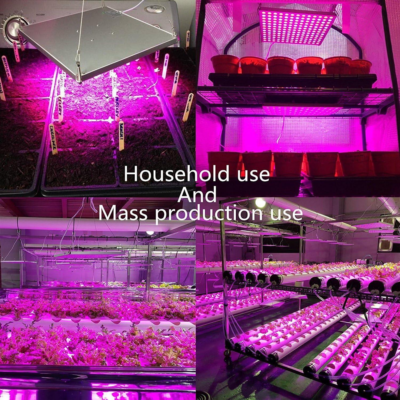 75W 2Lampe Led Horticole Croissance Floraison Plante Culture Indoor Hydroponique