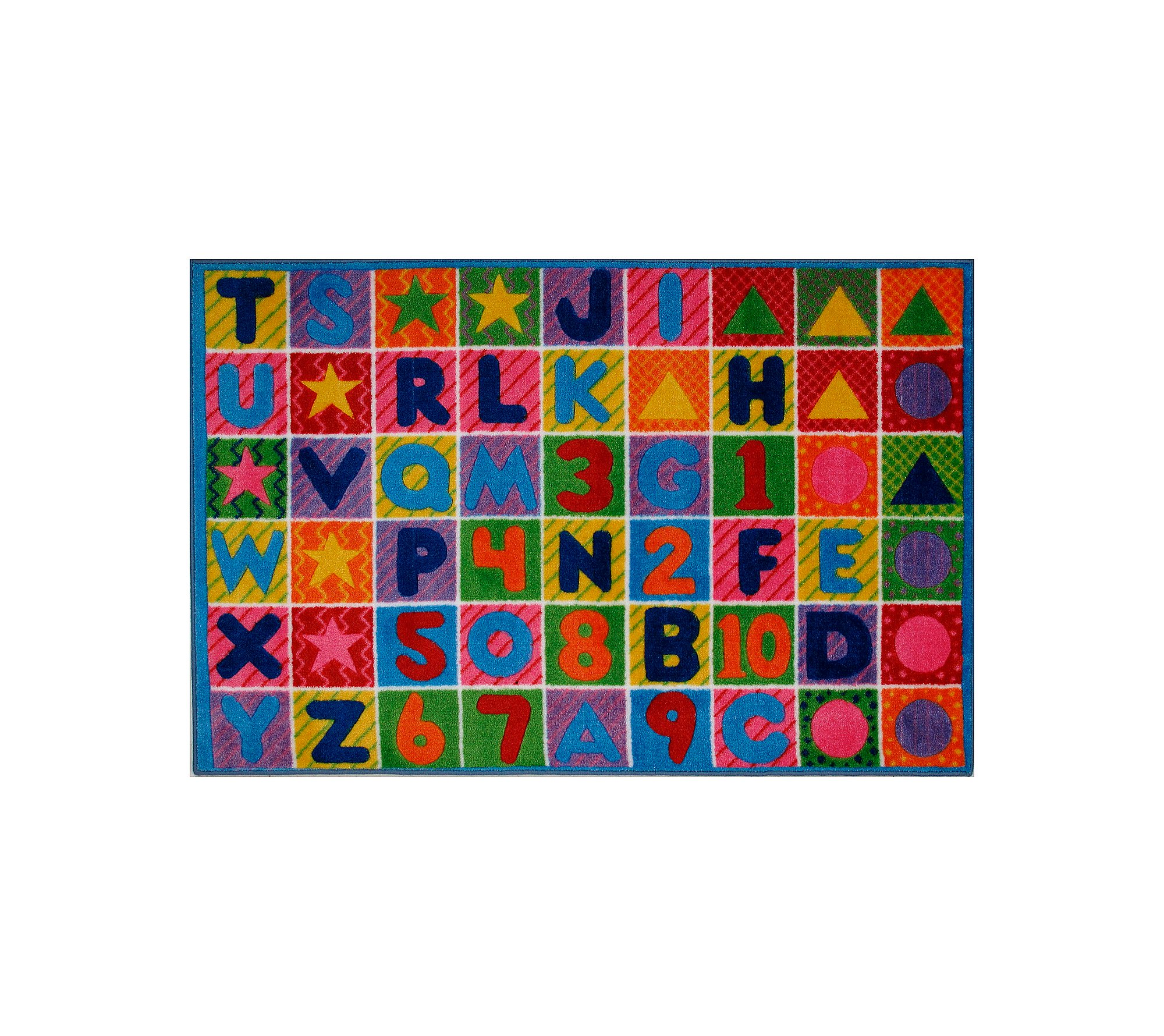 Fun Rugs Numbers & Letters - 39x58 by Fun Rugs