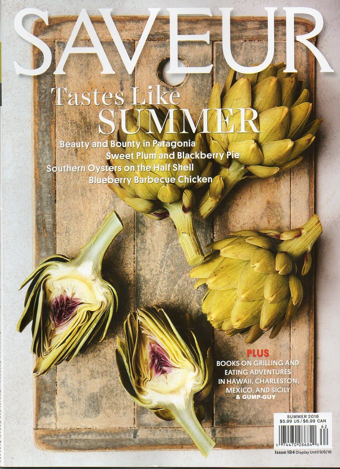 Saveur 2016 Magazine BLUEBERRY BARBECUE CHICKEN Southern Oysters On The Half Shell ebook