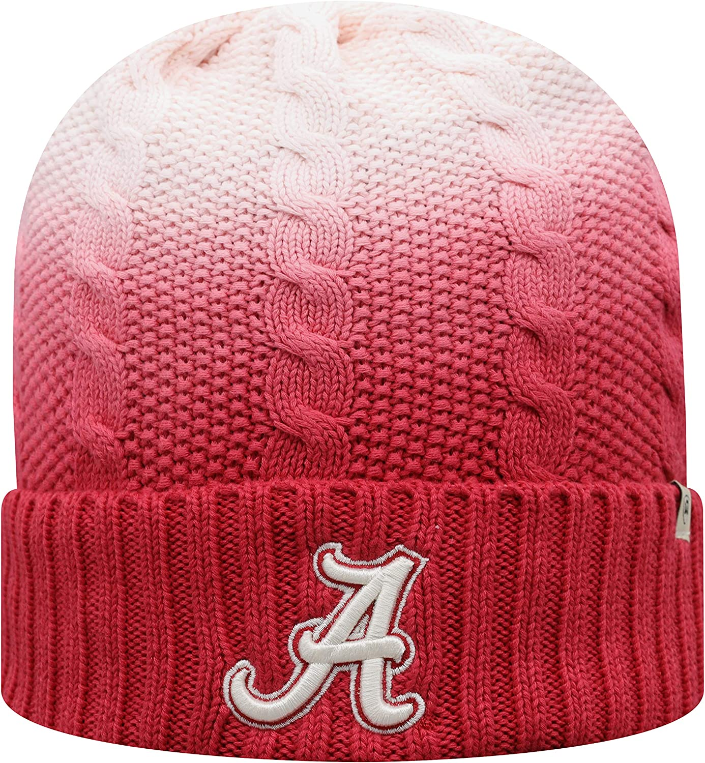 Top of the World Team Color Cable Knit Cuffed Knit Winter Hat