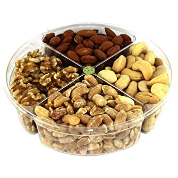 Premium Gourmet Nuts Gift Basket Assortment Healthy Fresh and Roasted
