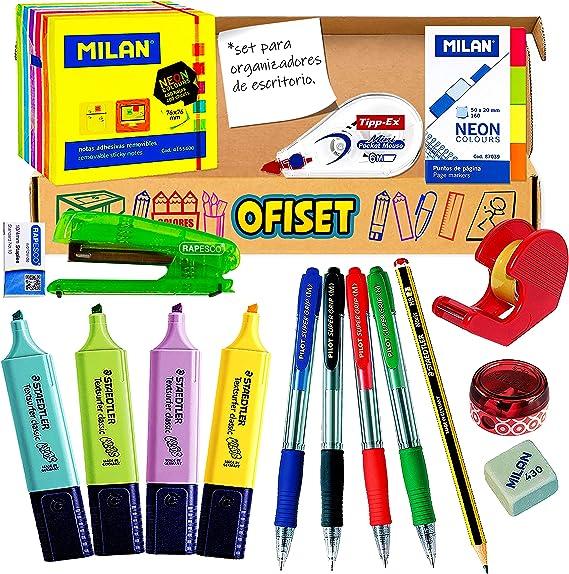 Coleset Pack Material Oficina y Papeleria Pack Boligrafos Pilot ...