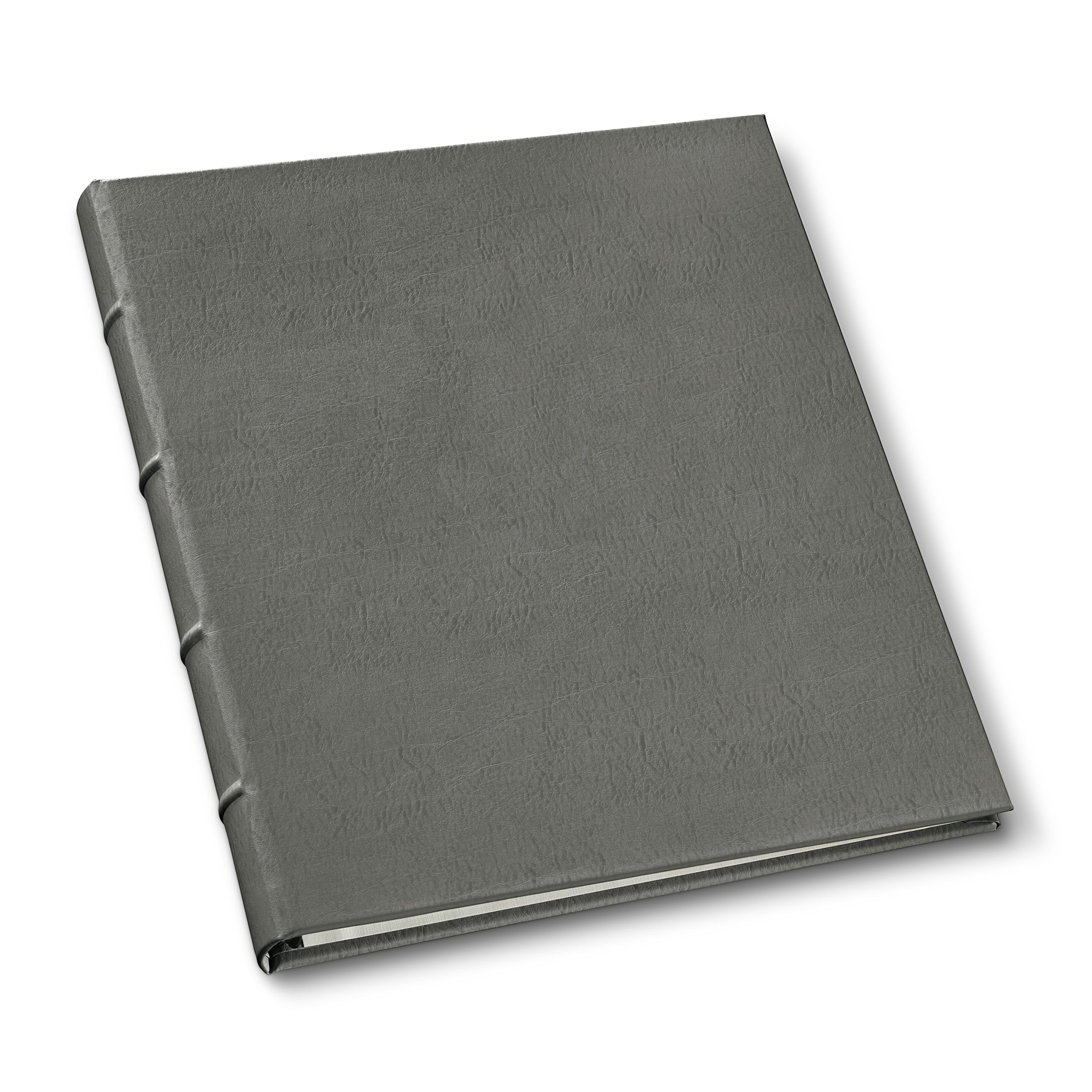 Gallery Leather Presentation Binder .75'' Hubbed Spine Freeport Slate by Gallery Leather