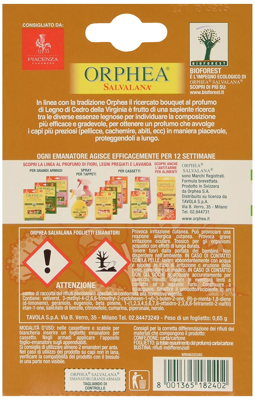 ORPHEA - Salvalana Sticky Anti TARME al Perfume de clavos de ...