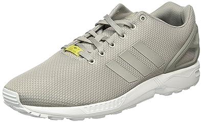 best service a99e3 91589 adidas Unisex-Erwachsene ZX Flux Low-Top Sneakers, Grau (aluminumaluminum