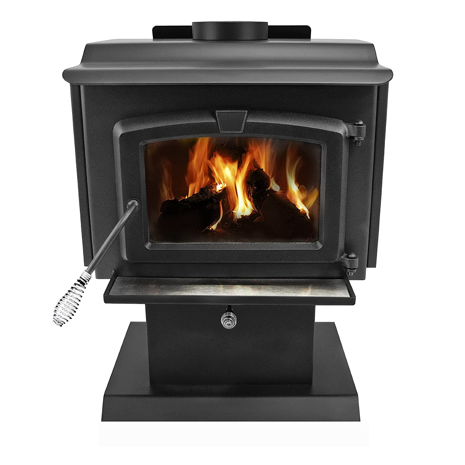 Amazon.com: Pleasant Hearth 1,200 Square Feet Wood Burning Stove, Small:  Home & Kitchen - Amazon.com: Pleasant Hearth 1,200 Square Feet Wood Burning Stove