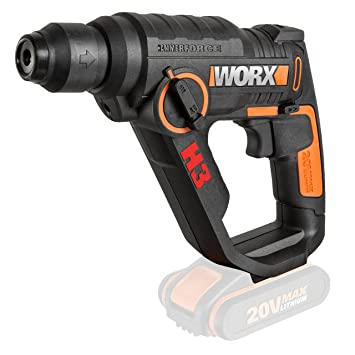 WORX WX390.9 - H3 Taladro/Atornillador/Martillo a batería 20V S/bat: Amazon.es: Bricolaje y herramientas