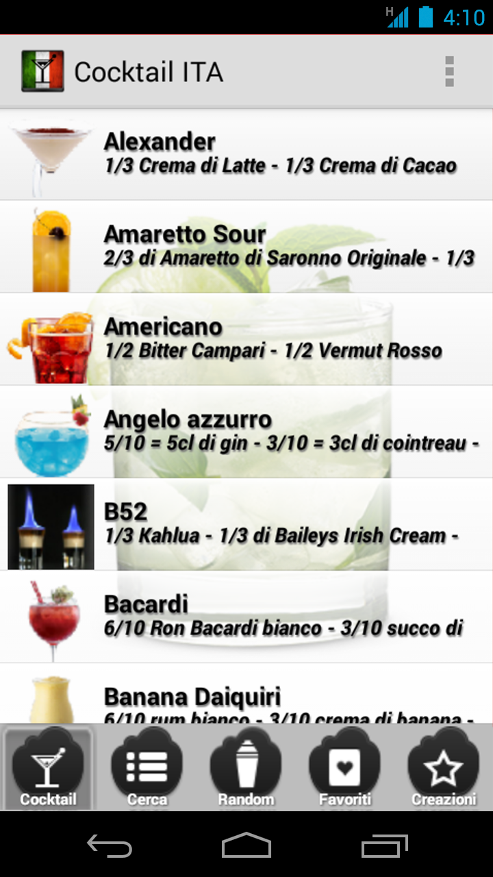 Cocktail ITA: Amazon.es: Appstore para Android