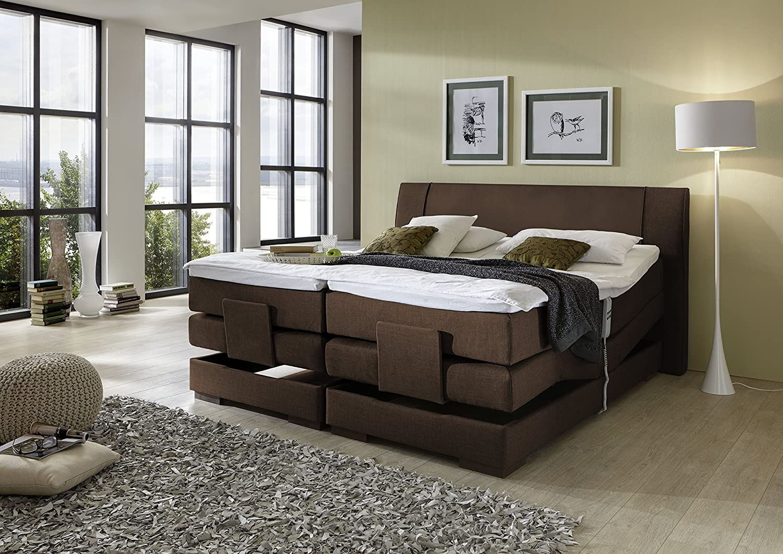brisbane plus inkl motor boxspringbett hotelbett amerikanisches bett designbett 200x200. Black Bedroom Furniture Sets. Home Design Ideas
