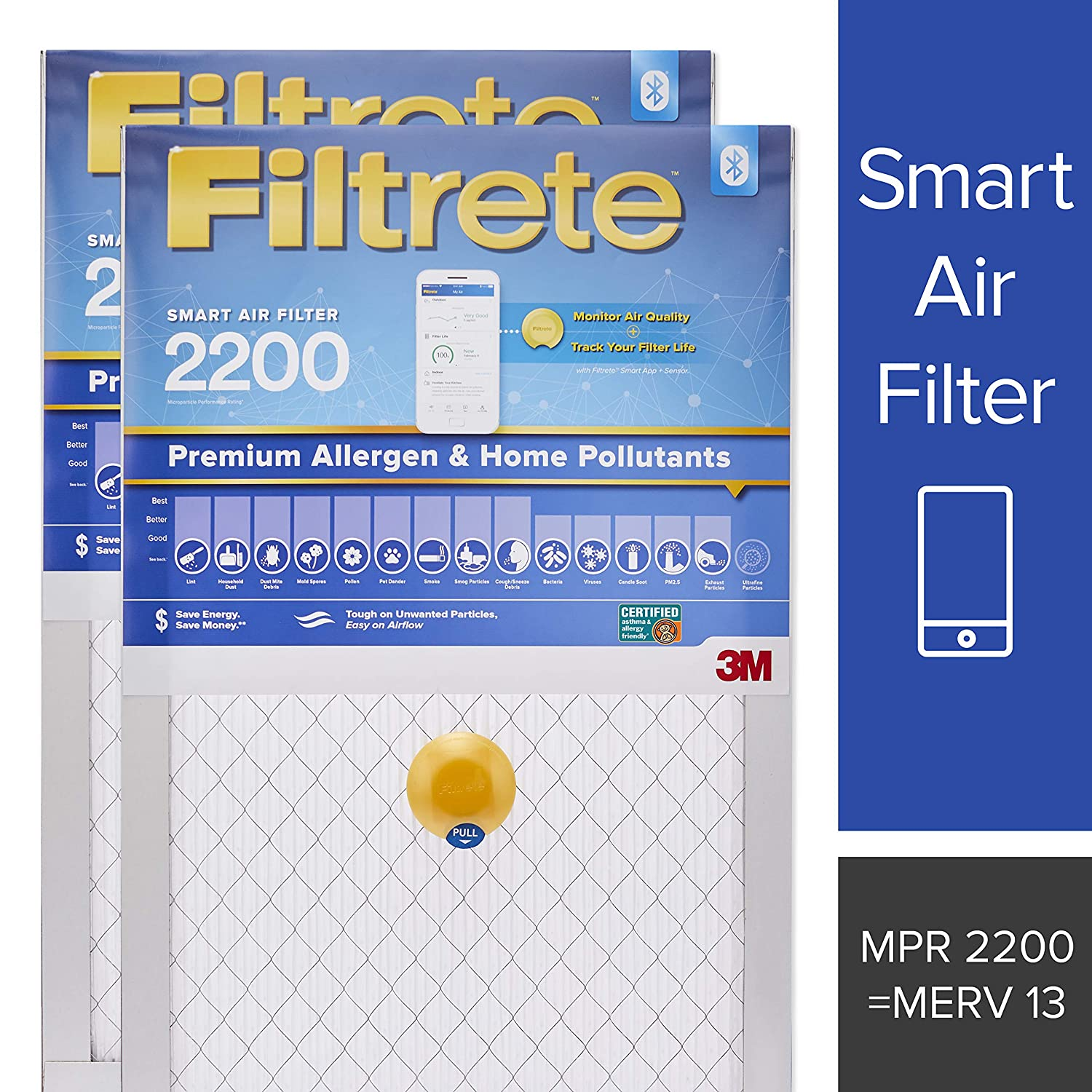 Filtrete 16x20x1 Smart Air Filter,