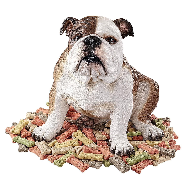 Amazon.com: Design Toscano Buster The Bulldog Sculpture: Home U0026 Kitchen
