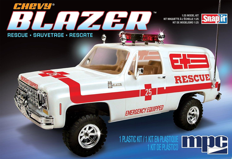 Blazer chevy blazer : Amazon.com : MPC MPC797/12 1/25 Chevy Blazer Super-Snap MPCS0797 ...