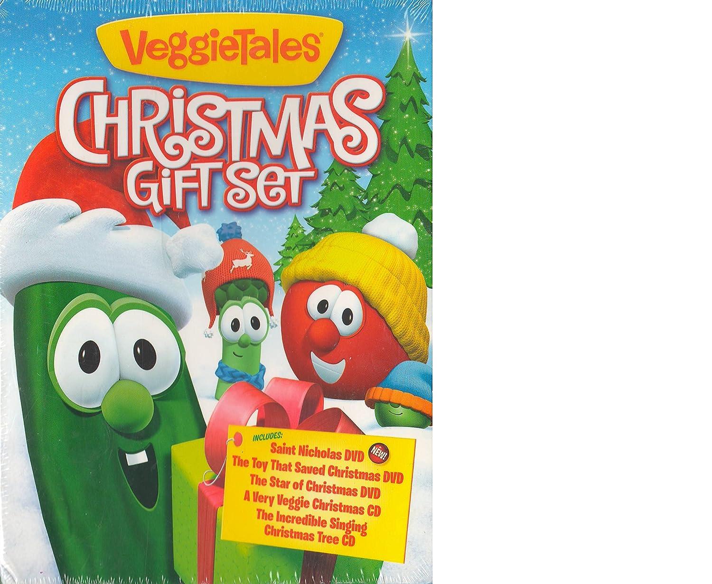 Amazon.com: VeggieTales Christmas Gift Set: Movies & TV