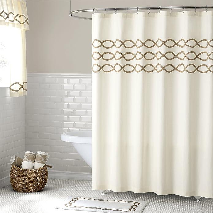 LaMont Home Linden Shower Curtain - 100% Cotton