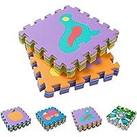BodenMax Esterillas para niños 30x30x1cm, para jugar