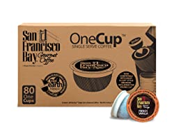 San Francisco Bay OneCup French Vanilla K-Cup