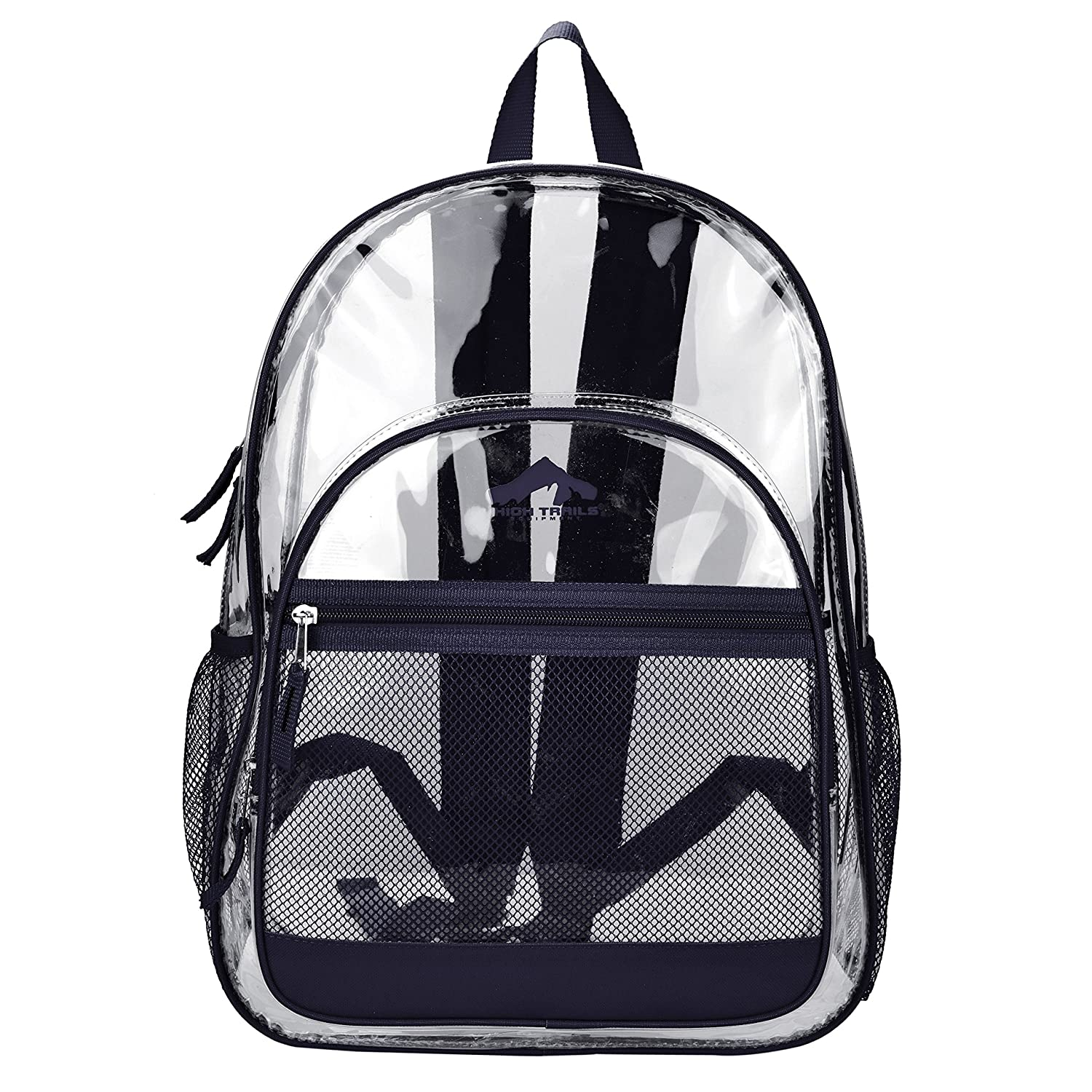 Amazon.com | Clear Transparent School Book bag / Kids Backpack w ...