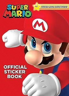 Super Mario Official Sticker Book Nintendo