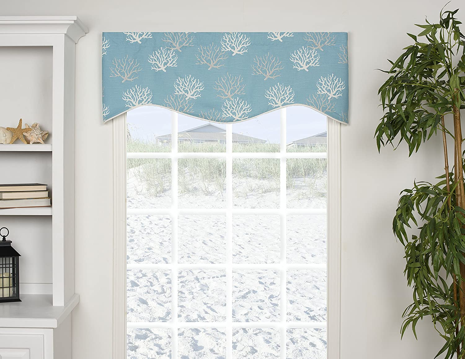 INC Captiva Shaped 50 Curtain Valance INC Captiva Shaped 50 Curtain Valance CAP-SHVAL VICTOR MILL